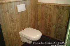 Krekt_op_Maat_Toilet_WC_Lambrisering_Steigerhout