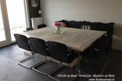Krekt_op_Maat_tafel_steigerhout_whitewash_zuilmodel